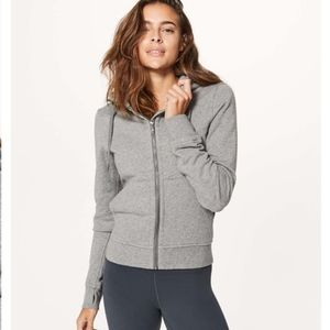 Lululemon Press Pause Jacket Gray Size 8